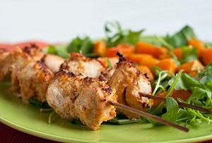 Вкусные рецепты шашлыков. Блюда из курицы.
