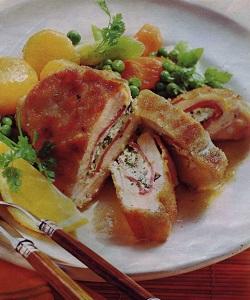 Вкусные блюда из курицы с овощами