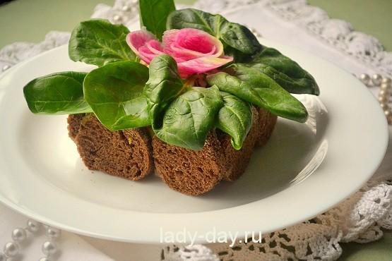 салат вазон