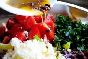 Греческий салат - фото шаг 14