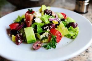 Греческий салат - фото шаг 15
