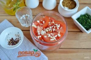 Острая закуска из помидоров - фото шаг 3