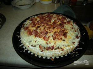 Пицца в духовке (тесто покупное) - фото шаг 5