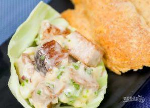 Рыбный салат - фото шаг 6