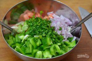 Салат на скорую руку - фото шаг 5