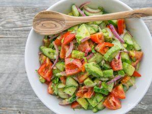 Салат с авокадо - фото шаг 3