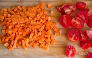 Салат с морковью - фото шаг 2