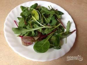 Салат с шампиньонами и помидорами - фото шаг 6