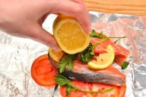 Стейк лосося в фольге - фото шаг 2