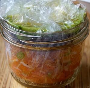 Тартар из лосося и авокадо - фото шаг 4
