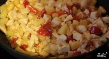 Курица в кисло-сладком соусе с рисом - фото шаг 6