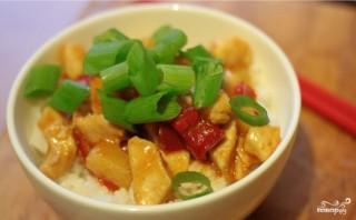 Курица в кисло-сладком соусе с рисом - фото шаг 11
