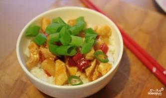 Курица в кисло-сладком соусе с рисом - фото шаг 12