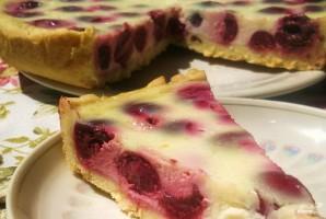 Пирог с вишней и сметаной - фото шаг 5