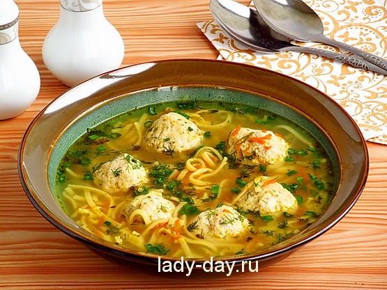 Суп с вермишелью и яйцом пошаговый рецепт