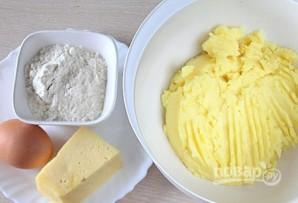 Картофельные оладьи из пюре - фото шаг 1