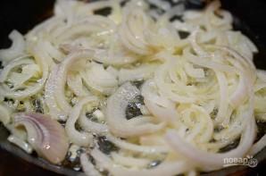 Пирог с рыбой и луком в горчичном соусе - фото шаг 1