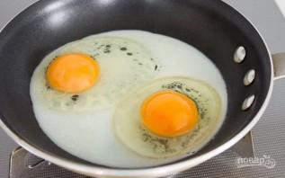 Глазунья к завтраку - фото шаг 2