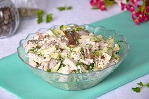 Как приготовить вкусный куриный салат