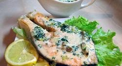 Рецепт оригинального рыбного блюда.