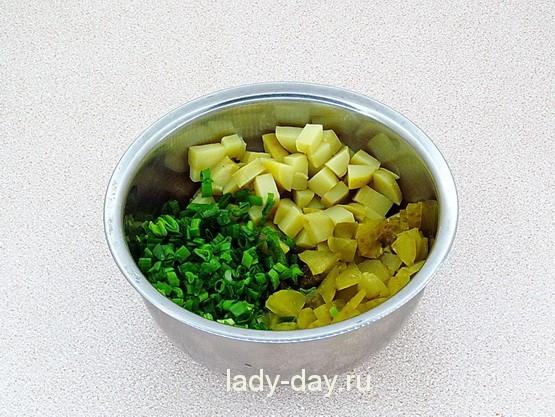 Картошка, огурцы, лук