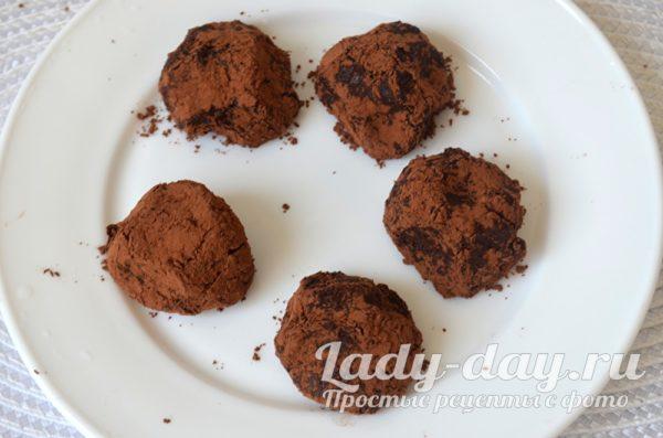 Полезные конфеты с какао