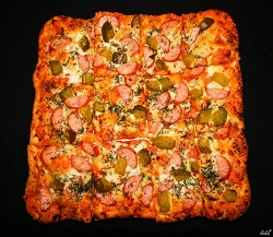 Как приготовить домашнюю пиццу