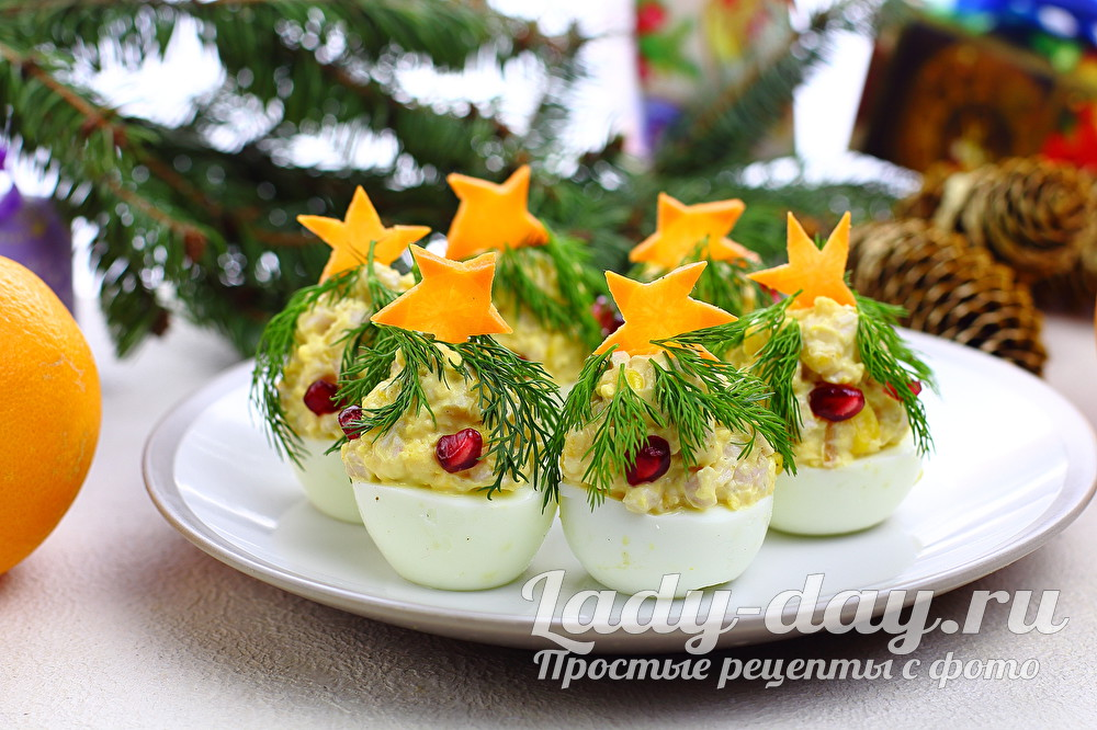 Новая закуска на новый год