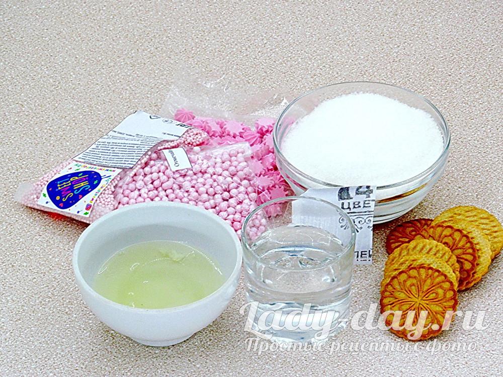 для крема и украшения