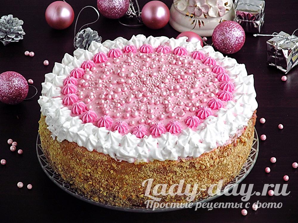 рецепт с фото бисквитного торта