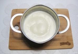 Шоколадно-ванильный крем - фото шаг 4