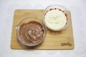 Шоколадно-ванильный крем - фото шаг 6