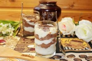 Шоколадно-ванильный крем - фото шаг 7