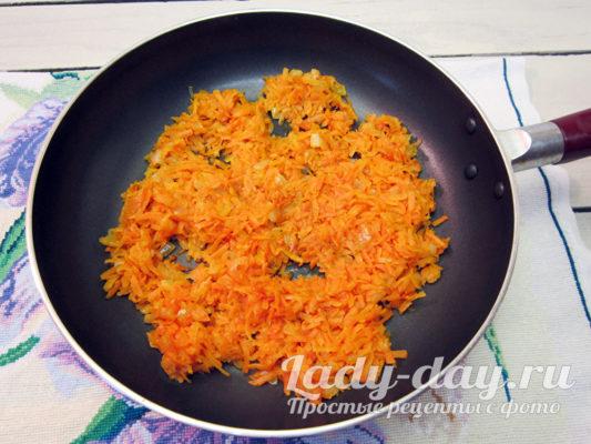 лук с морковью пассеровать