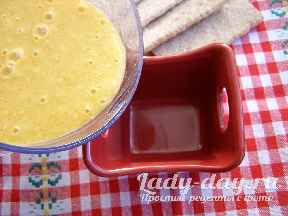 суп-пюре с овсянкой