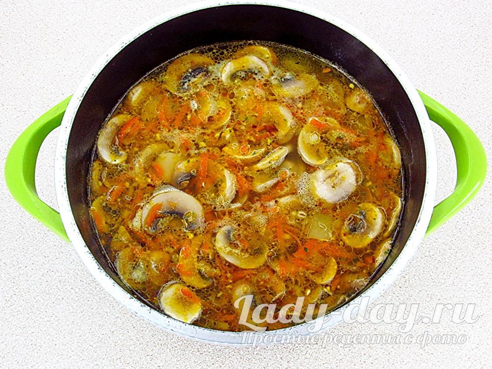 варить суп с перловкой