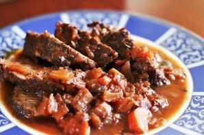 Домашнее тушеное мясо - фото шаг 6
