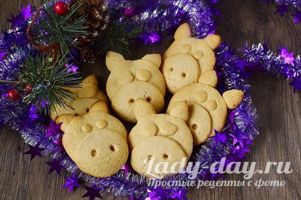 печенье Поросята готово