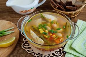 Простой куриный суп с овощами - фото шаг 5