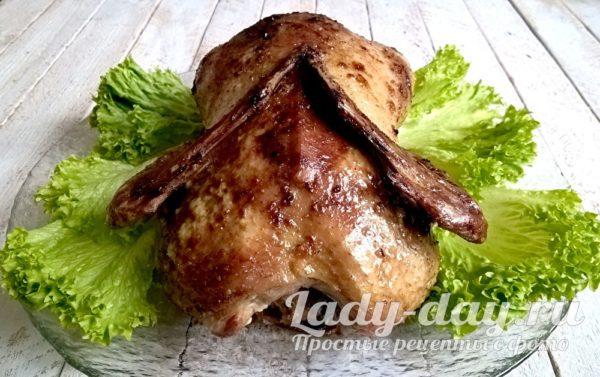 утка фаршированная картошкой