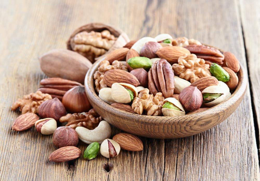 Орехи - источник белка