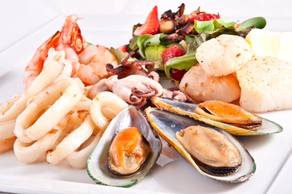Рыба и морепродукты - источник белка