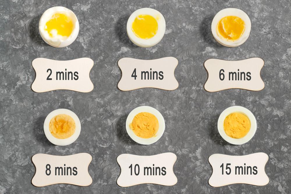 Время правильного приготовления куриных яиц