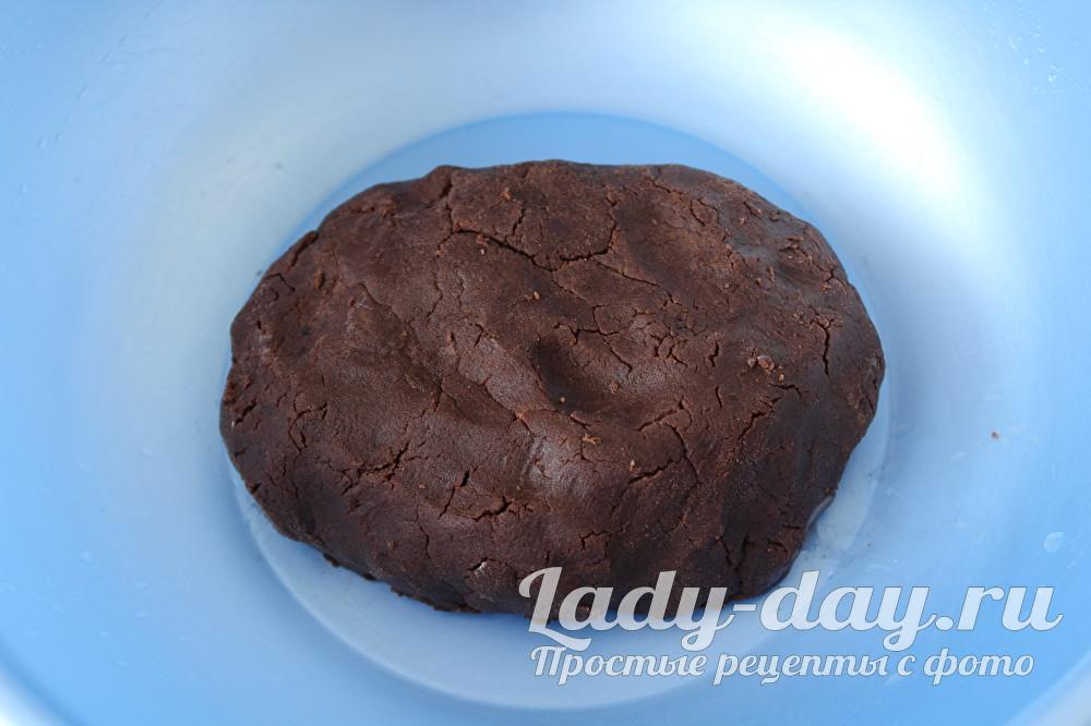 шоколадное тесто