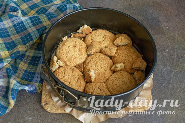выкладываем овсяное печенье