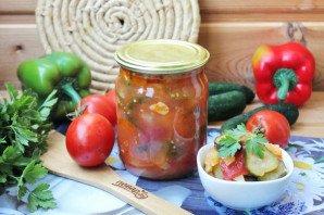 Грузинский салат на зиму - фото шаг 13