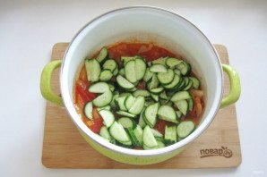 Грузинский салат на зиму - фото шаг 9