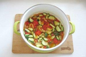 Грузинский салат на зиму - фото шаг 11