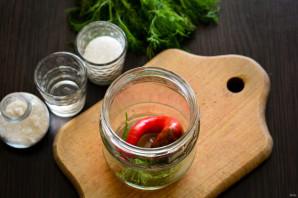 Маринованный перец чили - фото шаг 2