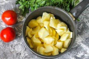Соус из помидоров с яблоками - фото шаг 3